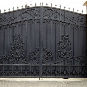 15 Ворота кованные ksd.ck.ua