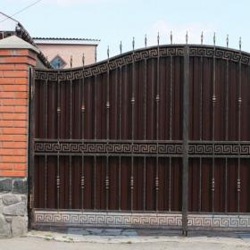 19 Ворота кованные ksd.ck.ua