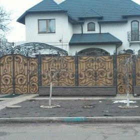 36 Ворота кованные ksd.ck.ua