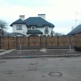 37 Ворота кованные ksd.ck.ua