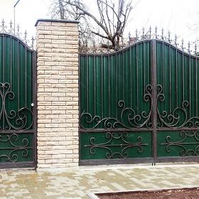 5 Ворота кованные ksd.ck.ua